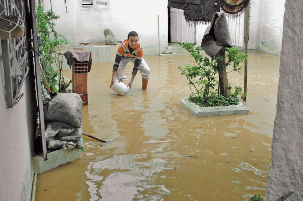 تأمين المنازل ضد الـ فيضانات في الجزائر