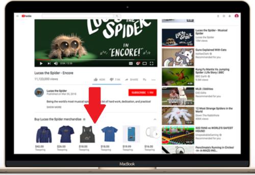 كيف تربح من اليوتيوب بيع المنتجات